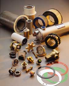 Rotary Screw Compressor Parts